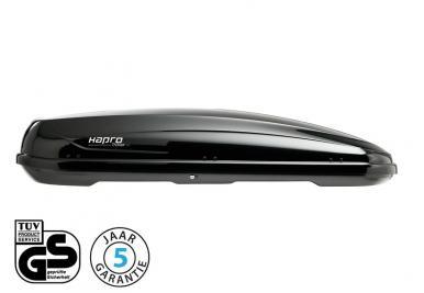 hapro traxer 8 6 brilliant black dakkoffer online kopen. Black Bedroom Furniture Sets. Home Design Ideas