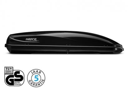Dakkoffer Hapro Cruiser 10.8 Brilliant Black
